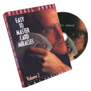 Easy to Master Card Miracles Volume 2 by Michael Ammar - DVD