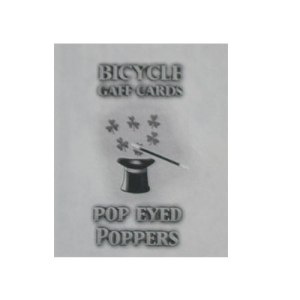 Pop Eyed Popper Deck Bicycle (Blue)