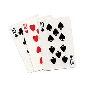 3 Card Monte (Blank) by Royal Magic