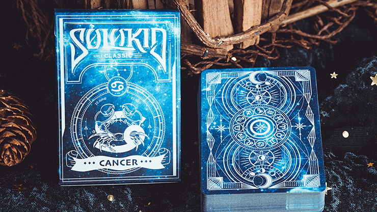 Solokid Constellation Series V2 (Cancer) Playing Cards by BOCOPO
