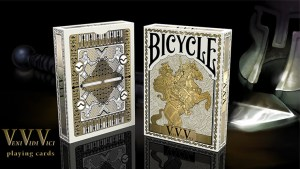 Bicycle VeniVidiVici Metallic Playing Cards by Collectable Playing Cards