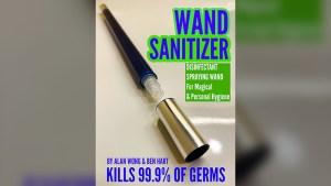 Wand Sanitizer by Alan Wong & Ben Hart