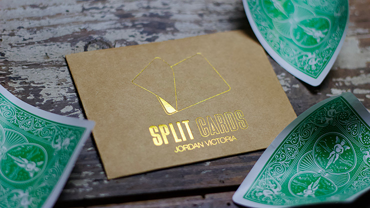 COLORED Split Cards 10 ct. (Green) by PCTC
