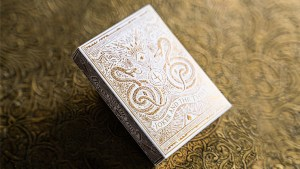 White Gold Edition V3 Playing Cards by Joker and the Thief
