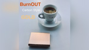BURNOUT 2.0 CARBON GOLD by Victor Voitko (Gimmick and Online Instructions)