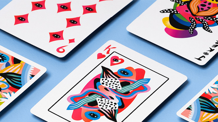 2021 Summer Collection: Ocean Gilded Playing Cards by CardCutz