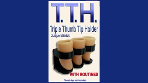 TRIPPLE THUMB TIP HOLDER by Quique Marduk