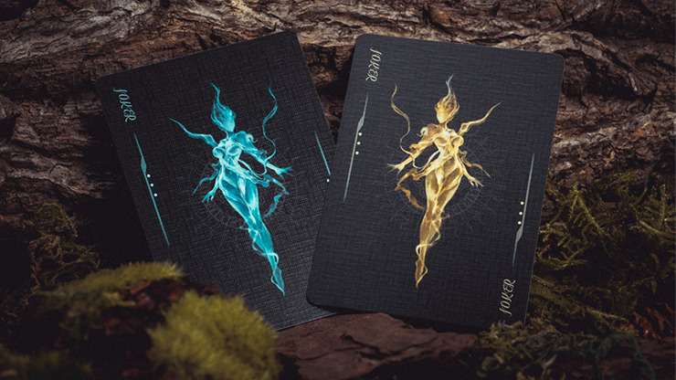Mysterious Journey Playing Cards by Solokid