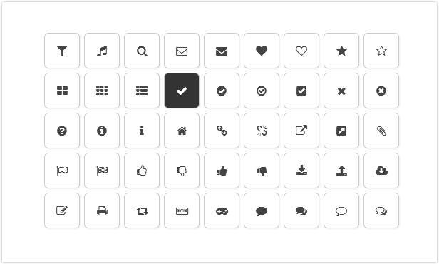 Awesome Font Icon