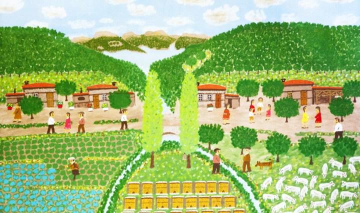 Giorgos Rigas - Sprinkling the vines