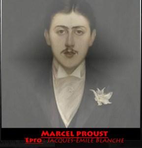 Jacques-Emile Blanche portrait of Marcel Proust