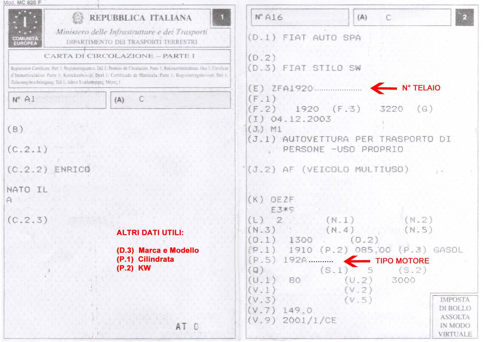 Turbocompressore Identificarlo E Richiedere Il Prezzo