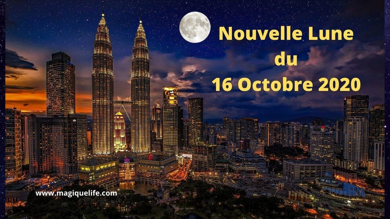 Nouvelle lune du 16 octobre 2020