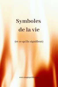 Symboles de la vie