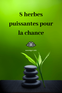 herbes puissantes pour la chance