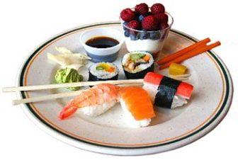 блюдо от суши