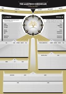RPG Character Sheet