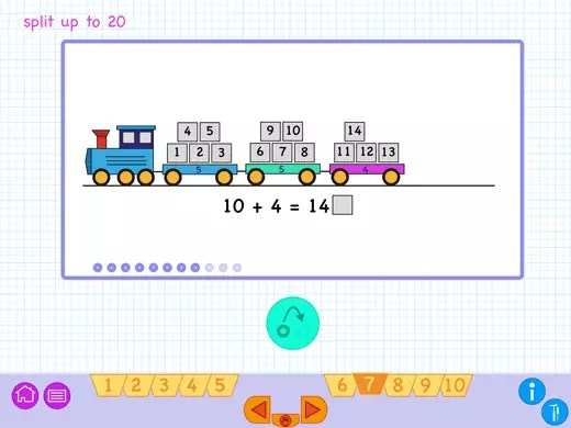 Worksheet with additions and subtractions. You can use them during the practicing of the addition and subtraction