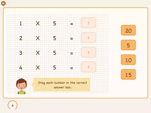 example of question with multiplications