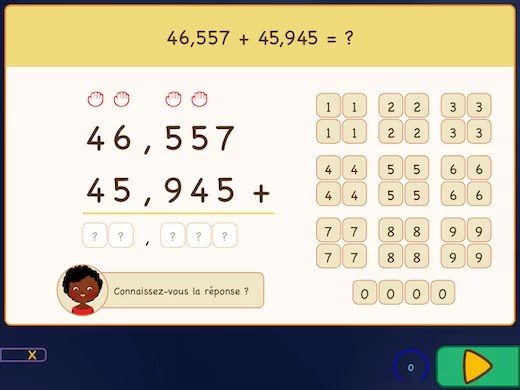 Comment ajouter des décimales?