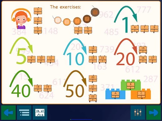 This show a nice method to learn to get number sense with numbers from 100 to 1000.