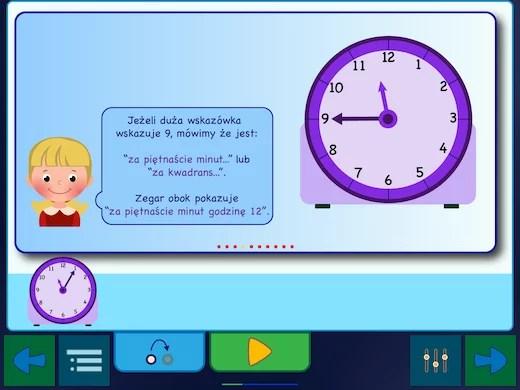 Jak odczytywać godziny z tradycyjnego zegara kołowego?