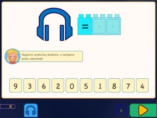 Nauka tabliczki mnożenia jest szybsza dzięki ćwiczeniom słuchowym.