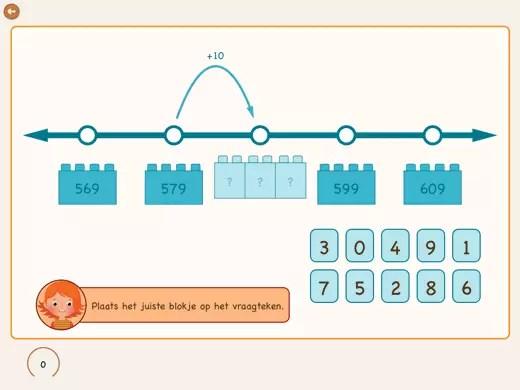 Jak oszacować setki za pomocą linii liczbowej?