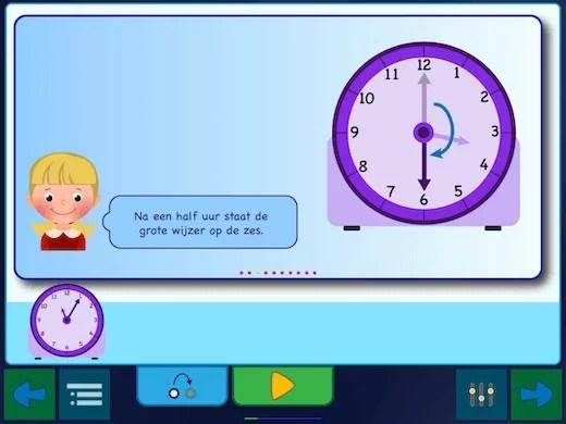 Hoe moet je de ronde klok lezen in het Nederlands