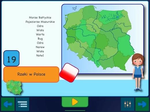 Topografia Polski - największe rzeki