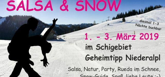 Kurzinfo Salsa & Snow 2019