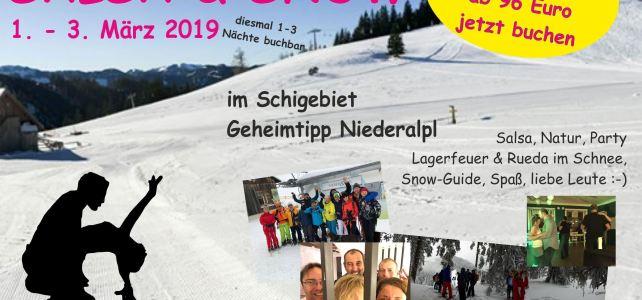 Salsa and Snow 2019: nur noch wenige Plätze frei