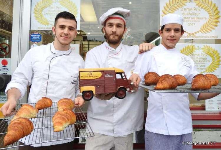 meilleur croissant à la boulangerie Juretig