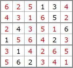 5 sol Sudoku difficile 34