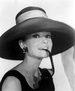 Audrey Hepburn in Colazione da Tiffany's