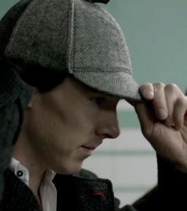 Sherlock Holmes e il suo Deerstalker, copyright BBC