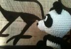 Il panda al museo