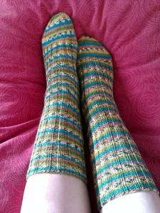 I calzini indossati