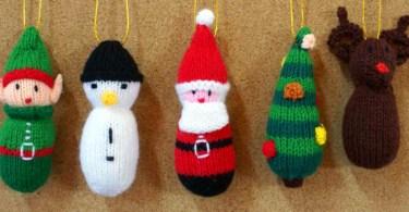 Ornamenti Natalizi – ©CambodianKnits