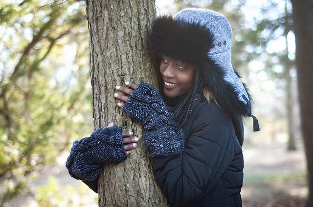 Dark Mithral di Lars Rains: regali di Natale a maglia per giovani donne e ragazze
