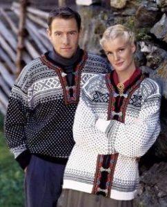 Due capi in stile norvegese