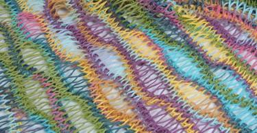 Mandala A Uncinetto Centrini Colorati Maglia E Uncinetto