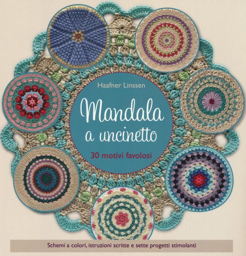 Copertina del manuale Mandala a Uncinetto di Haafner Linnsen