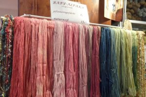 I colori di Alles Alpaca al Vienna Wool & Design Festival