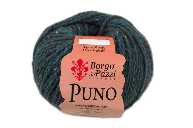 Gomitolo di Puno, un filato misto lana, alpaca e acrilico di Borgo de' Pazzi
