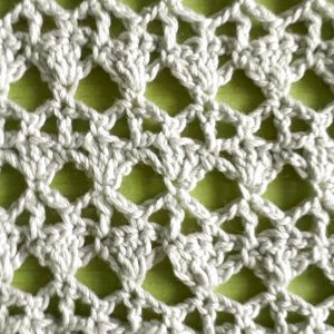 Tencel-Cotton di Katia lavoato all'uncinetto
