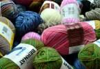 Assortimento di lana per calze