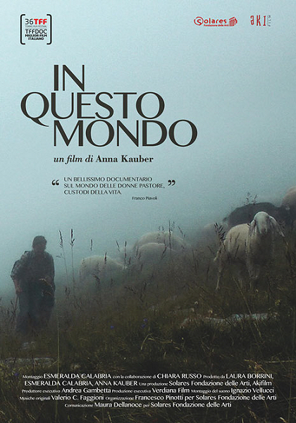 Locadina del documentario di In questo mondo di Anna Kauber