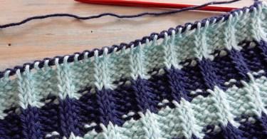 Tunisian Crochet Rib Stitch HappyBerry Crochet apprendimento e diffusione uncinetto tunisino
