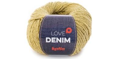 Katia Love Denim, foto del gomitolo di cotone riciclato